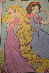 Rapunzel and Snow White