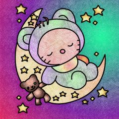 Sleepy - May 2021 Coloring Contest